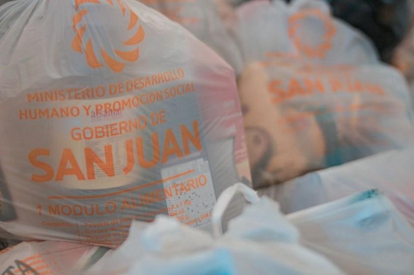 Segunda entrega de los módulos alimentarios de emergencia