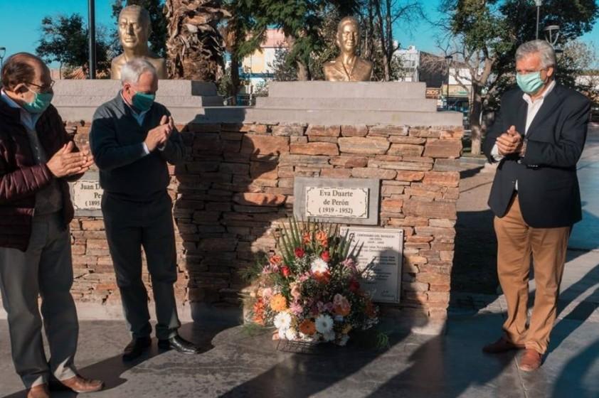 Homenaje a Evita a 101 años de su natalicio