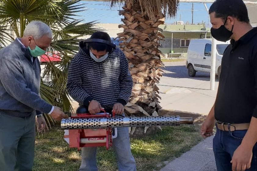 El Municipio adquirió una máquina para luchar contra el Dengue