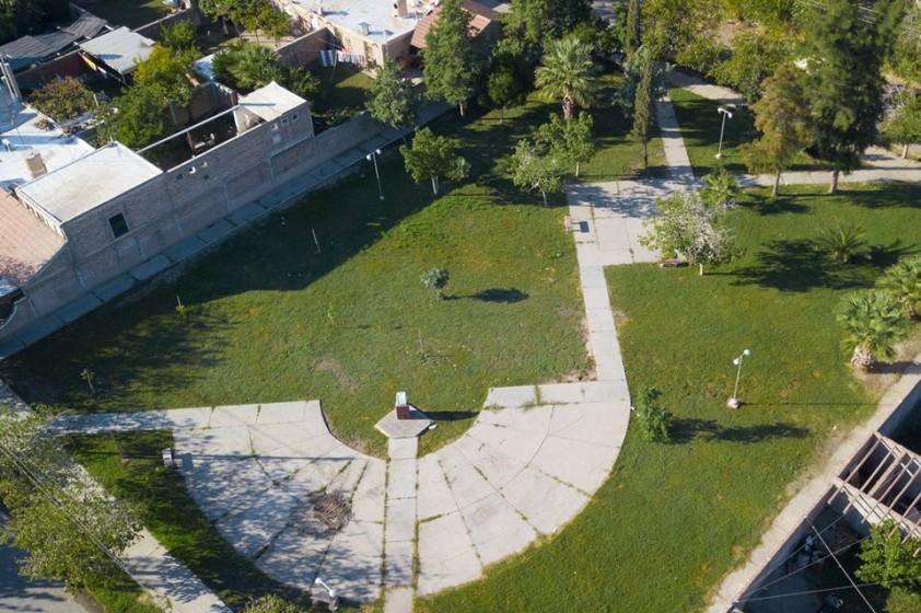Tareas de refacción en espacios verdes