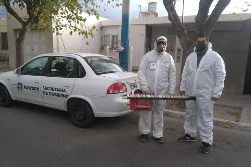 Control de Vectores realiza tareas de fumigación para evitar propagación del Dengue