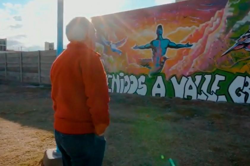 Se pintaron murales en merenderos y comedores del Barrio Valle Grande
