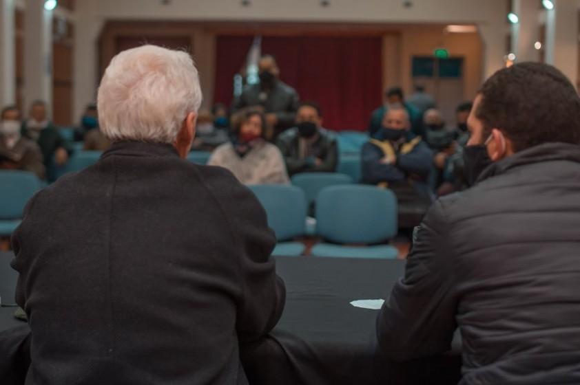 Reunión con miembros de las Iglesias Evangélicas del departamento
