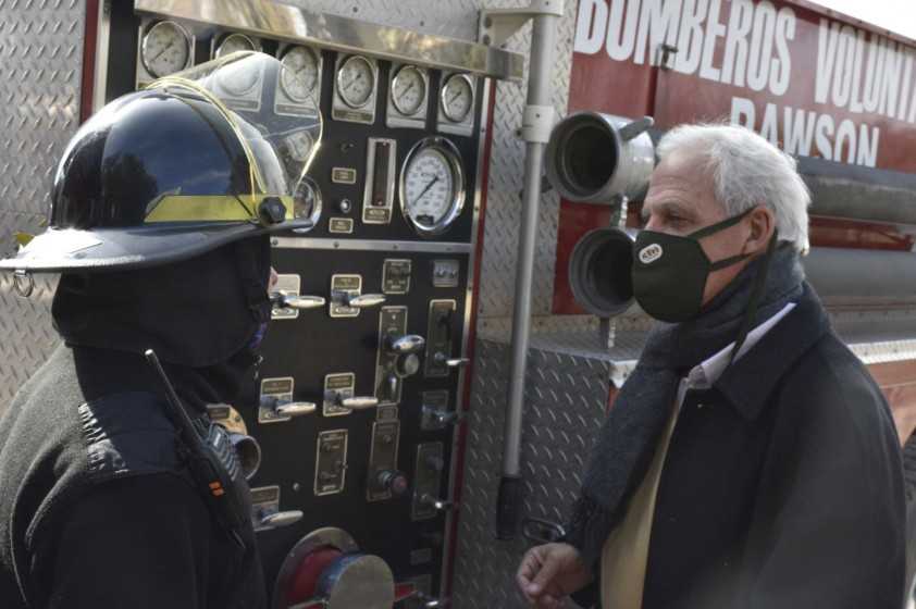 Los Bomberos Voluntarios y Protección Civil tendrán su propio destacamento