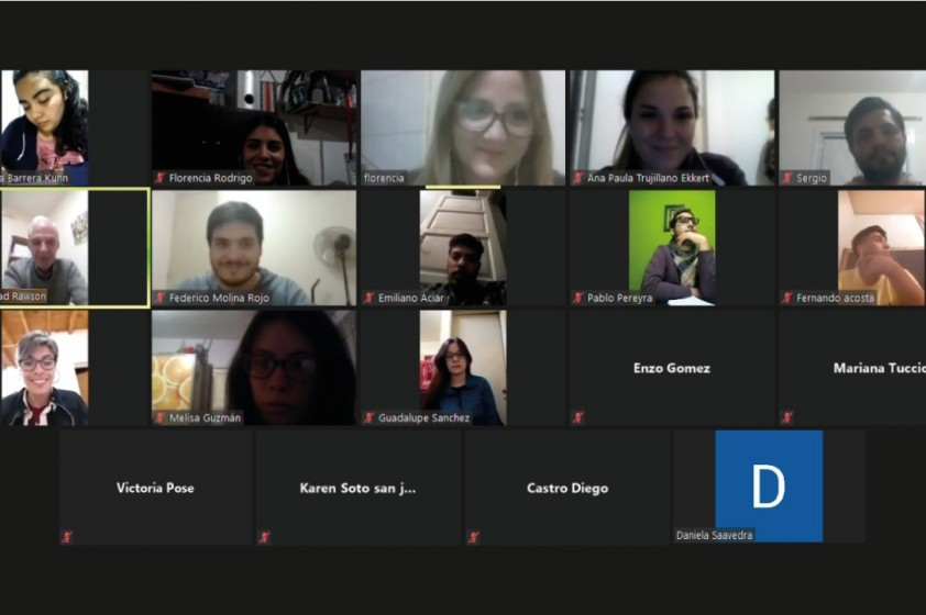 Reunión con Alumnos Universitarios