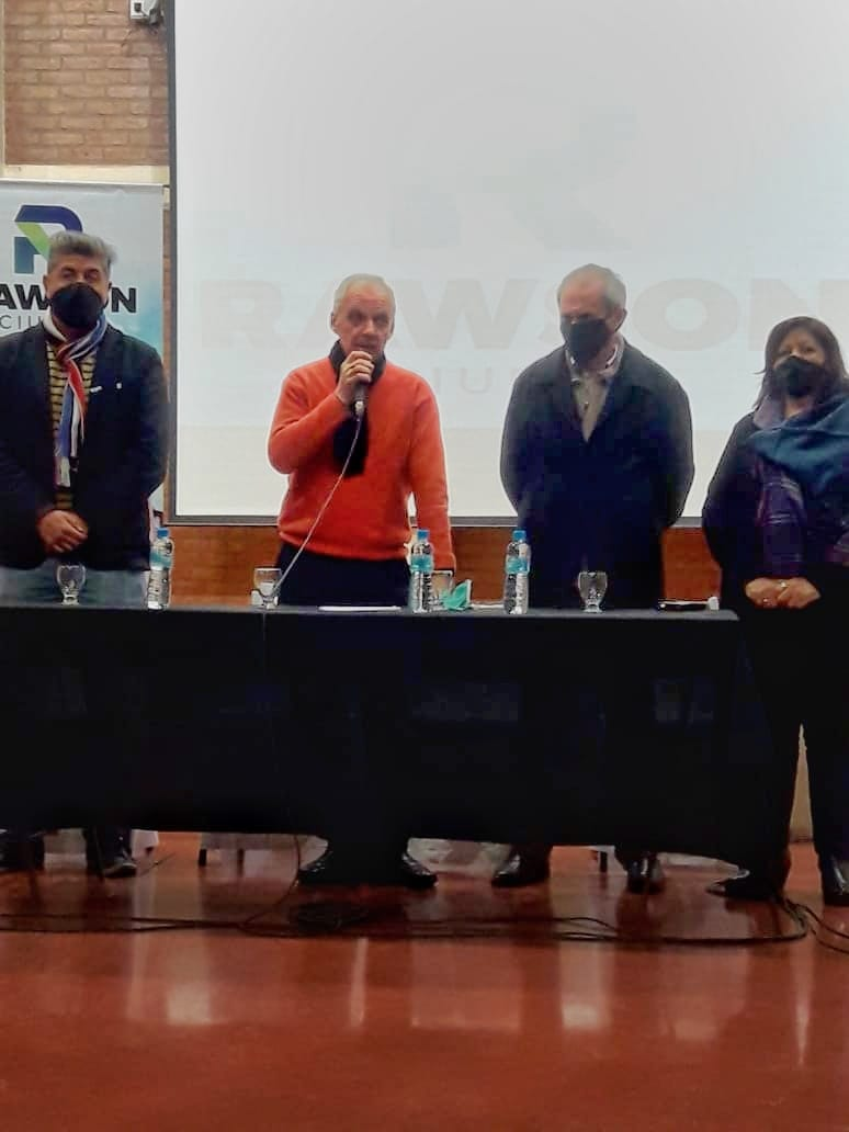 Se reunieron Instituciones Sociales y Deportivas departamentales para ASJ-Rawson