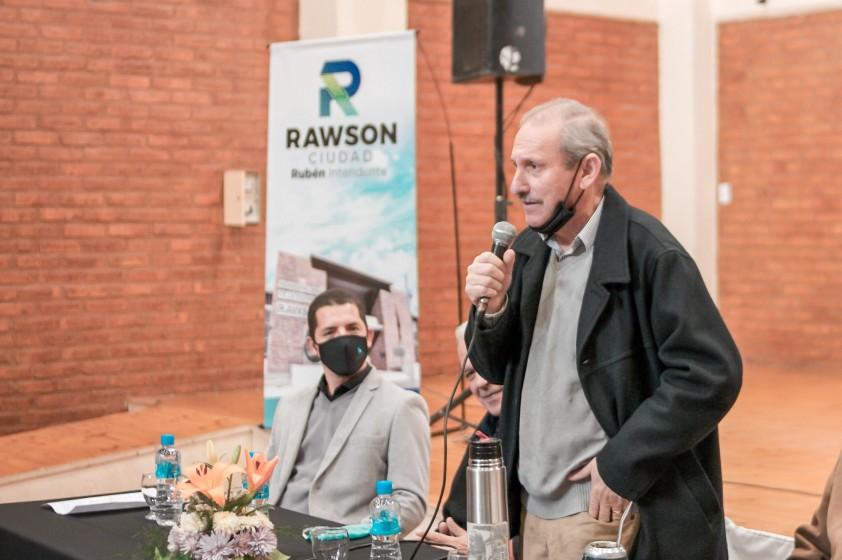 Miembros de Organizaciones Sociales y Cultos se reunieron con Rubén García por el ASJ