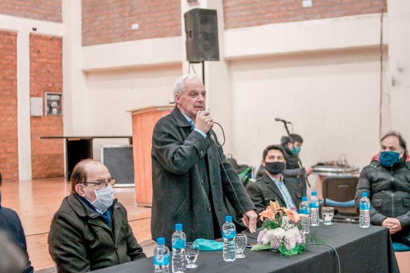 Rubén García se reunió con los referentes políticos del departamento por el ASJ