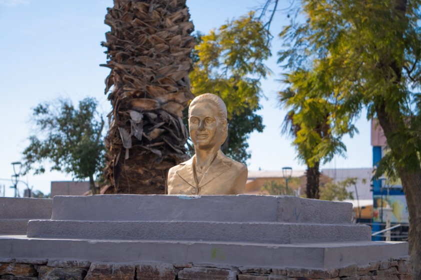 Homenaje a Eva Duarte de Perón