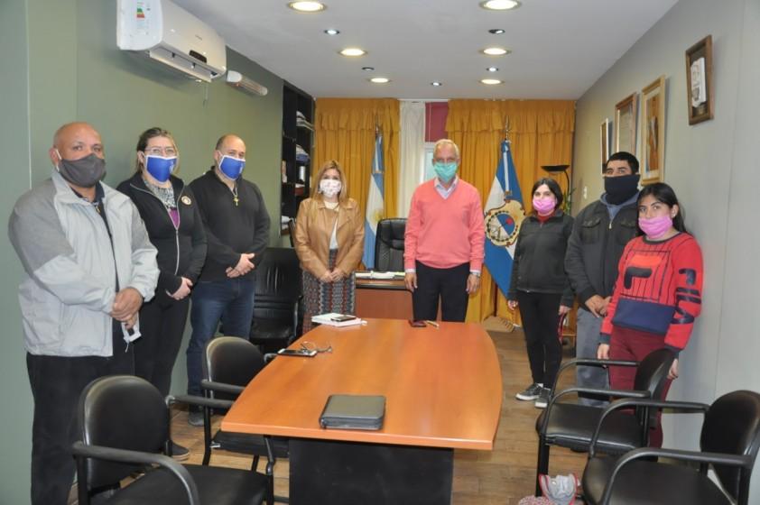 Rubén García se reunió con la Asociación Familias del Dolor y la Esperanza