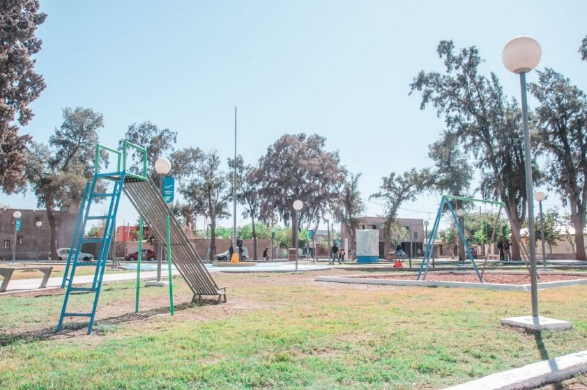 Inauguración de Obras e imposición de nombre de Plaza