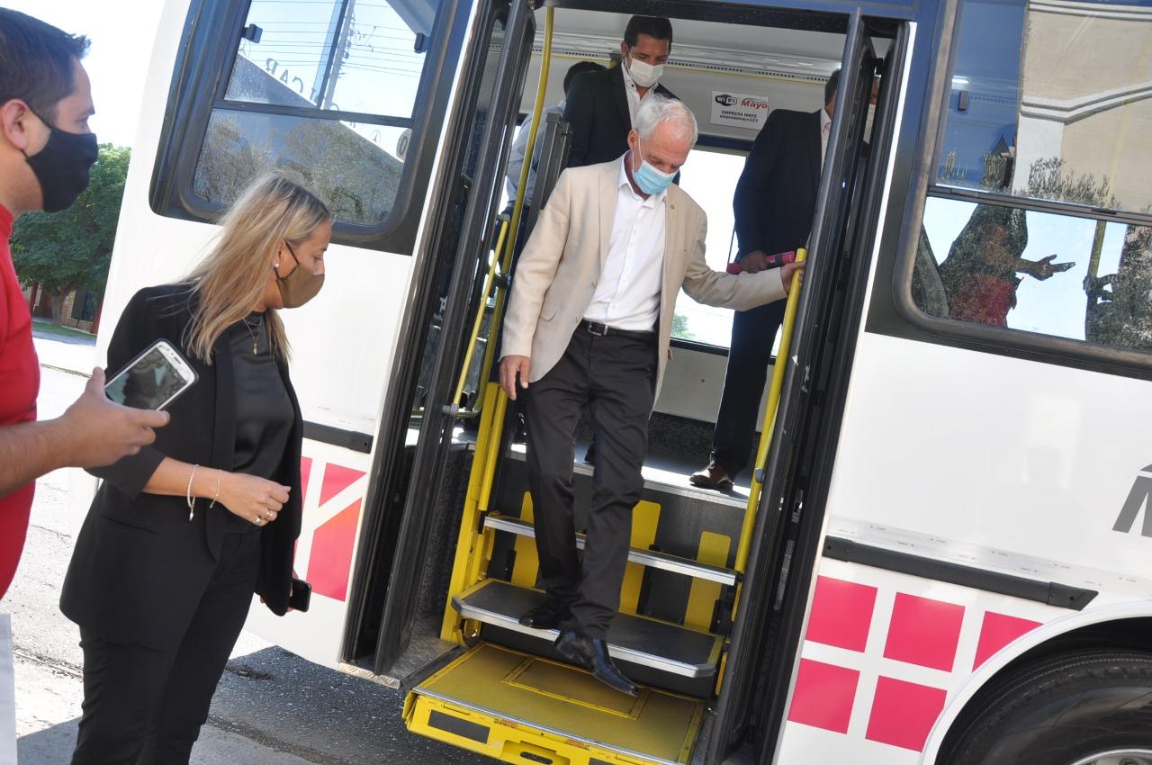 Red Tulum trae mejoras para el transporte público de Rawson