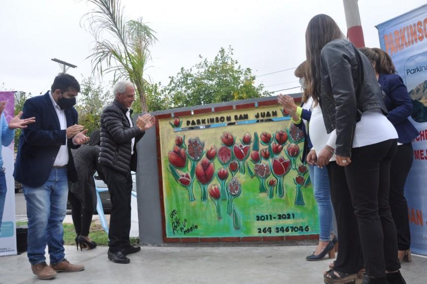 Inauguración de Mural con motivo del 10° Aniversario de la Asociación Civil Parkinson