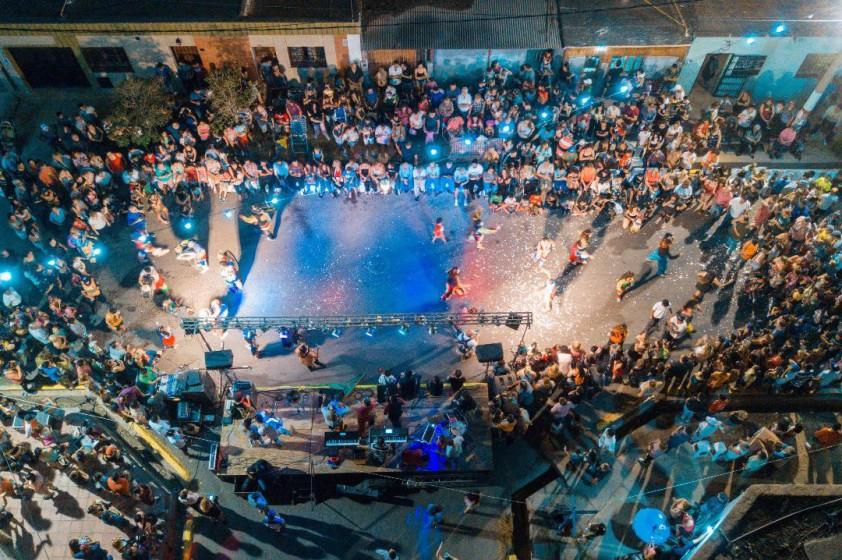 El Carnaval se vivió con mucha alegría en Villa Italia