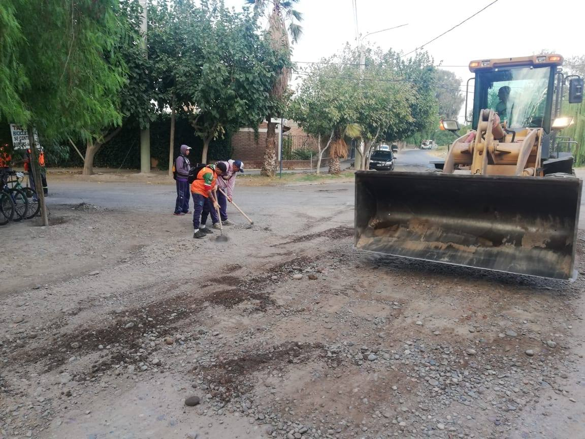 Operativo de Limpieza en calle Güemes