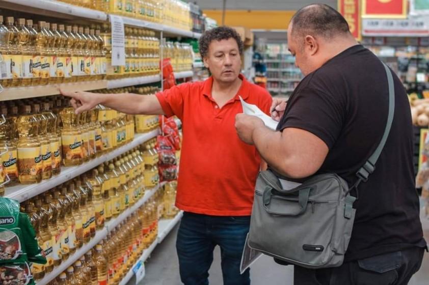 Control de precios en los comercios de Rawson